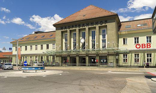 Beim Villacher Hauptbahnhof ist es zu einem ungewöhnlichen Zwischenfall gekommen