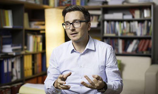 Politologe und Terrorismusexperte Franz Eder, Universität Innsbruck