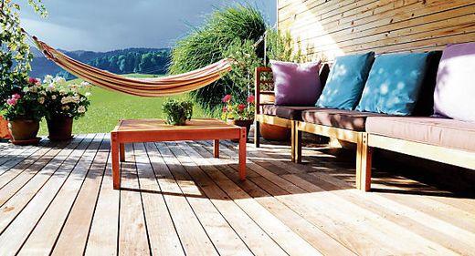 nat rliche trends f r die terrasse. Black Bedroom Furniture Sets. Home Design Ideas