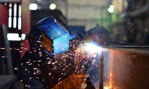 Am meisten Job-Wachstum gab es in der Industrie