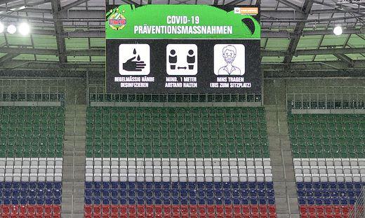 FUSSBALL OeFB-CUP 1. RUNDE: SK RAPID WIEN - TSV ST. JOHANN
