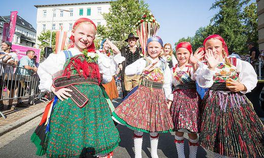 Villacher Kirchtag 2017 Samstag Kirchtagssamstag Trachtenumzug