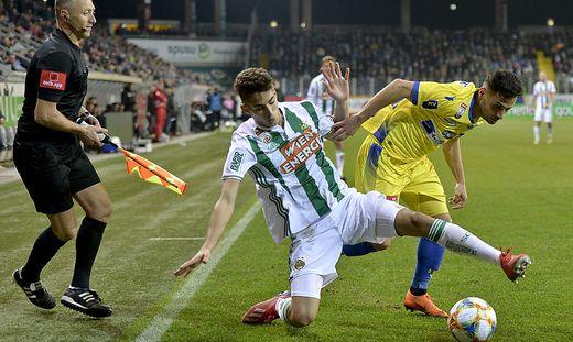 Rapid feierte einen deutlichen Sieg gegen St. Pölten