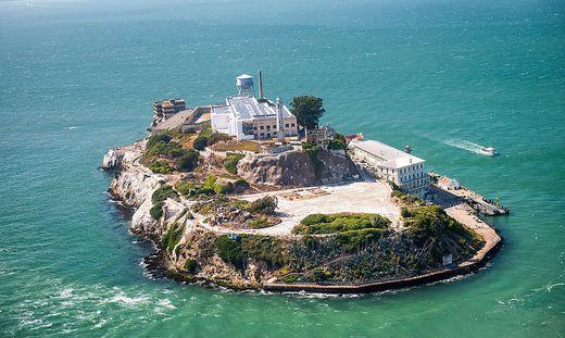 Alcatraz aus der Vogelperspektive