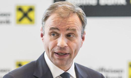 Peter Gauper, Vorstand der Raiffeisen Landesbank Kärnten