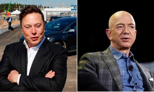 Elon Musk und Jeff Bezos setzen auf Internet via Satellit