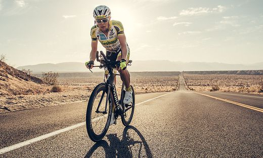 Christoph Strasser auf dem Weg zu seinem fünften Sieg
