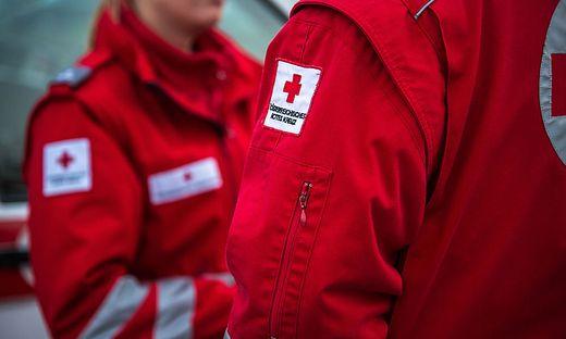 Das schwer verletzte Kind wurde vom Roten Kreuz versorgt
