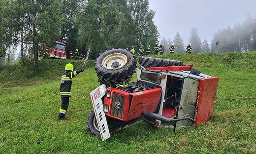 Tödlicher Traktorunfall in Laßnitz bei Murau