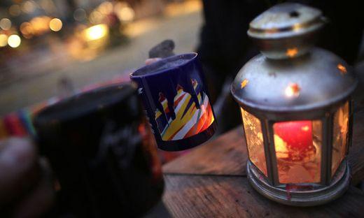 Adventmarkt samt Glühwein - trotz Corona