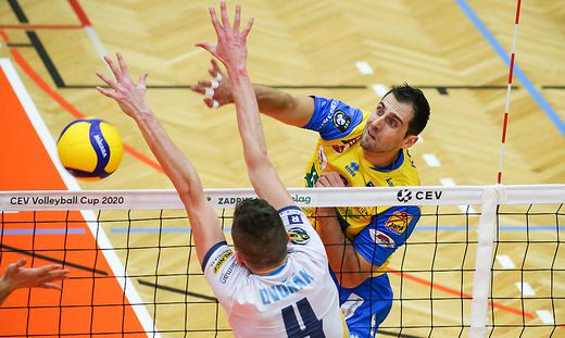 VOLLEYBALL - CEV Cup, Aich/Dob vs Ostrava