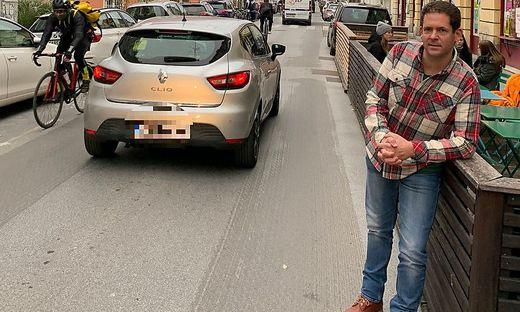 Gerd Wilfling, ÖVP-Bezirksvorsteher von Geidorf, drängt auf mutige Verkehrsberuhigung der Zinzendorfgasse