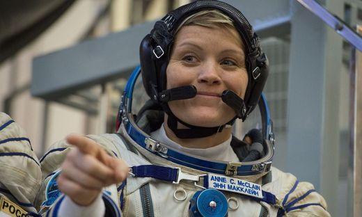 Die Astronautin Anne McClain