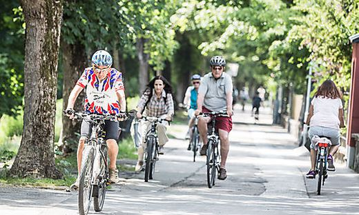 Rad Radfahren Klagenfurt Lendkanal