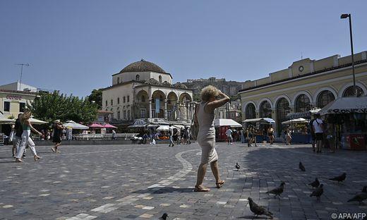 Der Monastiraki-Platz in Athen