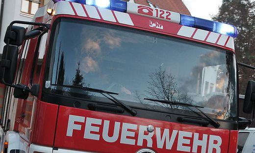 Zwei Feuerwehren rückten aus