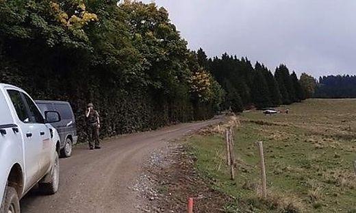Großeinsatz im Grenzgebiet