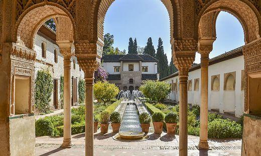 Ein Paradiesgärtlein in der Alhambra, Granada