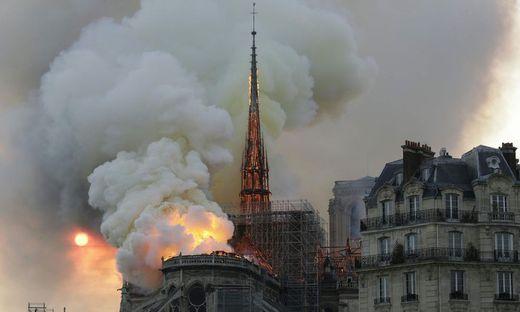 Der Brand von Notre-Dame zog Millionen Menschen in seinen Bann