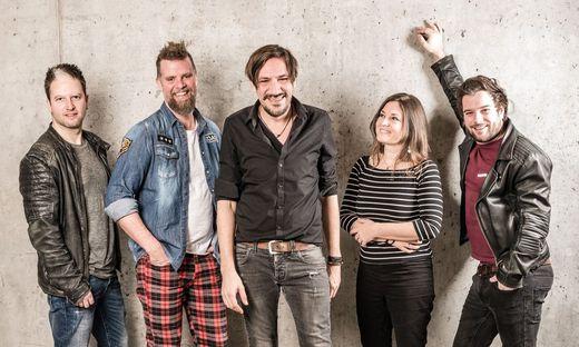 """Die Band """"Alle Achtung"""""""