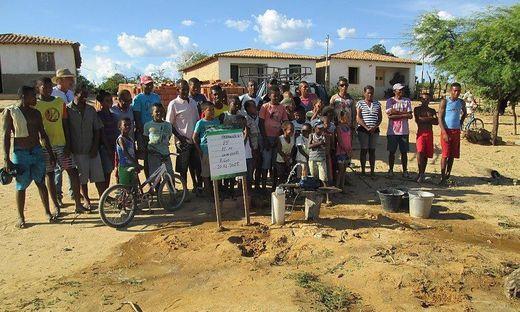 Josef Fink initiierte Brunnenhilfe für Brasilien