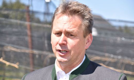 Muss den Gürtel enger schnallen: Landwirtschaftskammer-Präsident Franz Titschenbacher