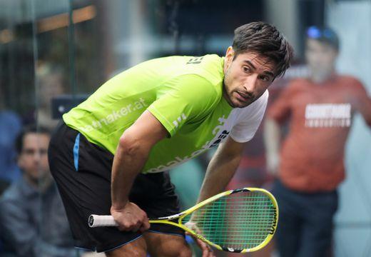 Für Österreichs Nummer eins Aqeel Rehman ist das Turnier bereits vorbei