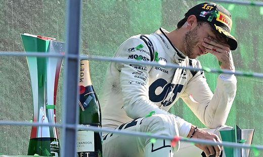 Gasly gewann erstmals in der Formel 1