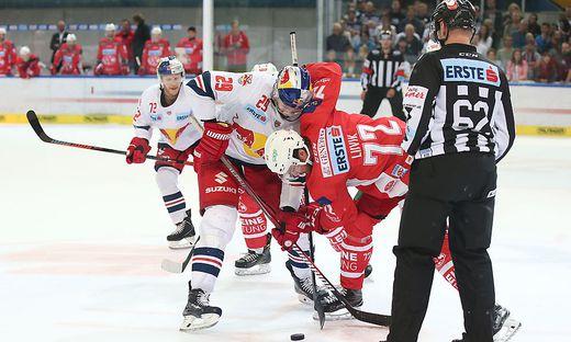 Ein Kampf zwischen Salzburg und dem KAC wird erwartet