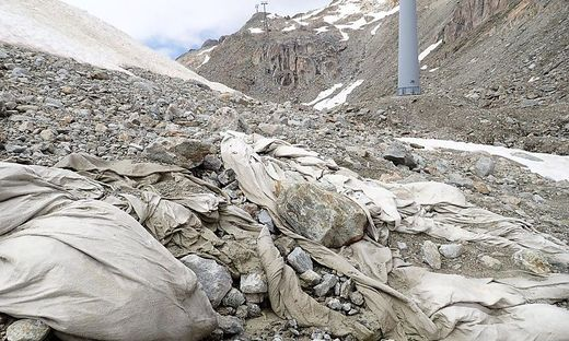 Müll in den Bergen