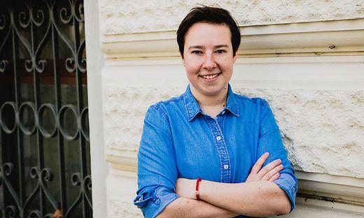 Natali Lujic, sozialistische Wahlsiegerin bei den Studenten in Graz