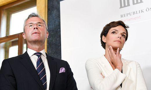 Hofer (FPÖ) und Rendi-Wagner (SPÖ)