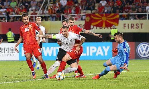 Marko Arnautovic war mit zwei Toren der beste Mann des Spieles