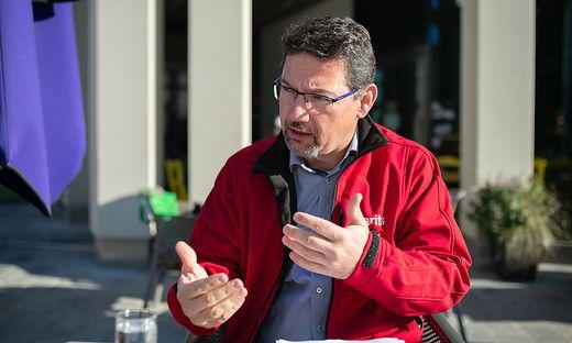 Ernst Sandriesser ist seit Februar Direktor der Caritas Kärnten