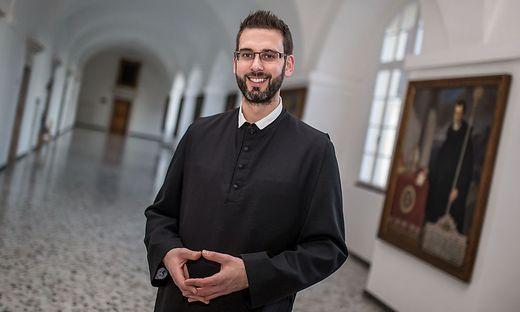 Für Frater Nikolaus ist Mönch ein attraktiver, fortschrittlicher Beruf