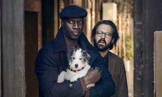 """Omar Sy und  Antoine Gouy in der Netflix-Serie """"Lupin"""""""