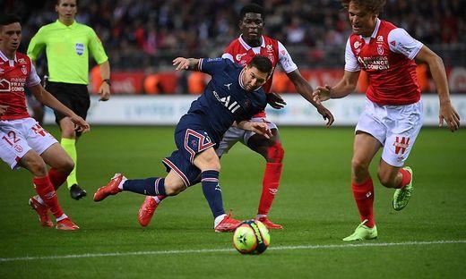 Messi debütierte für Paris Saint-Germain