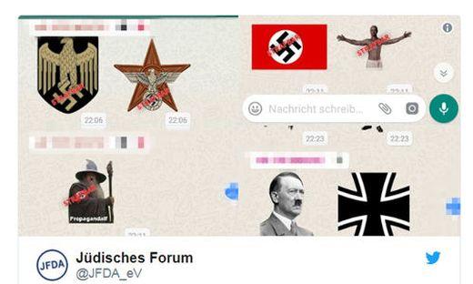 nazi whatsapp sticker