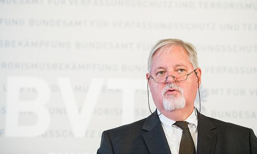 BVT-Direktor Peter Fridling