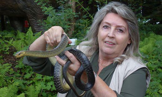 Schlangen-Expertin Helga Happ