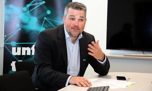 Silicon-Austria-Labs-Geschäftsführer Gerald Murauer