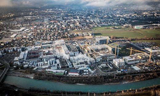Infineon-Werksbau in Villach
