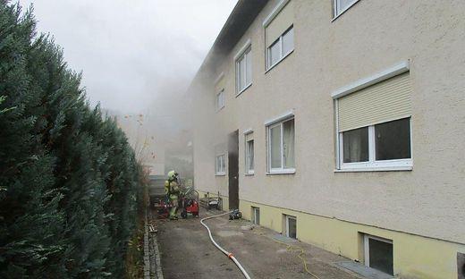 Die Berufsfeuerwehr Klagenfurt konnte den Brand rasch löschen