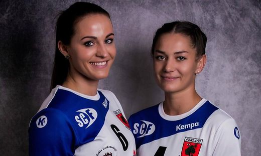 Anna Kavalar (l.) und Luisa Senitza sind ein eingespieltes Team