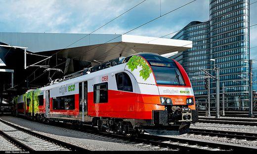 OeBB und Siemens entwickeln Akkutriebzug / OeBB and Siemens develop  battery-powered train
