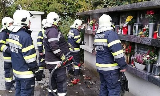 Brand am Friedhof in Kammern im Liesingtal