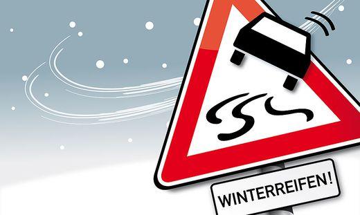 Ausrüstungsmuffel riskieren beim Verstoß gegen die Winterreifenpflicht empfindliche Strafen