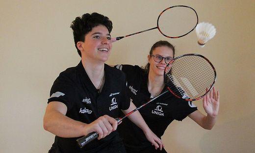Jenny (l.) und Conny Ertl freuen sich auf das Heimspiel-Doppel am Wochenende