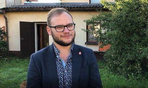 Josef Meszlenyi, Spitzenkandidat der KPÖ in der Obersteiermark