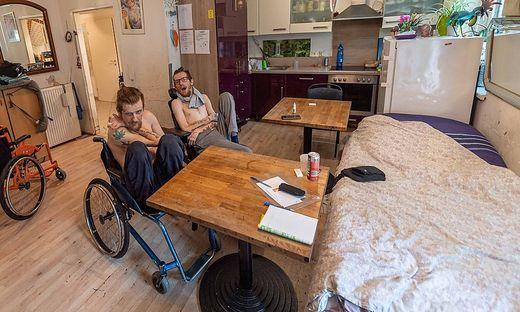 Steirer helfen Steirern: Hilfe für Markus und Christian